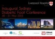 Diabetic Foot Conference Inaugural Sydney - Diabetes Australia