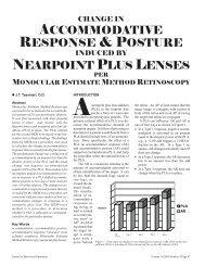 16-4 Tassinari.pdf - Optometric Extension Program Foundation