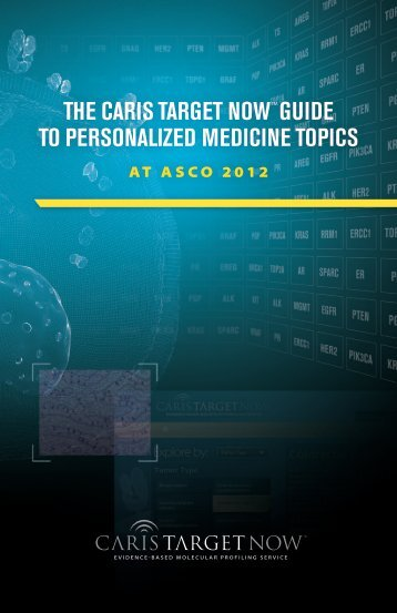 the caris target now™guide to personalized medicine topics