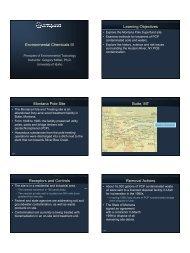 Environmental Chemicals III - Agls.uidaho.edu - University of Idaho