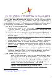 Documento di sintesi - Fondi Europei 2007-2013