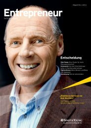 Entrepreneur by Ernst & Young  – Magazin 1/2011 - Home - Ernst ...