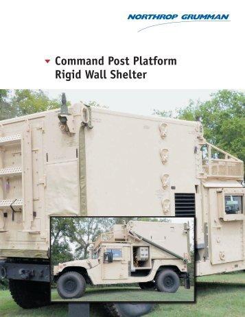 t Command Post Platform Rigid Wall Shelter - Northrop Grumman ...