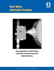 Gear-Spray Lubrication Systems - Graco Inc.