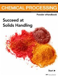 Succeed at Solids Handling - Chemical Processing
