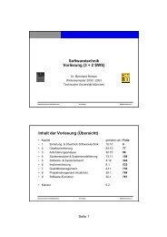 2. Objektorientierung - Software and Systems Engineering - TUM