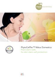 PhytoCellTec™ Malus Domestica Plant stem cells for skin stem cell ...