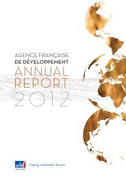 Annual Report - Agence Française de Développement