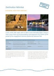 View detailed information and rates in printable ... - Tourism Australia
