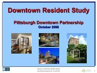 Downtown Resident Survey (October 2008) - The Pittsburgh ...