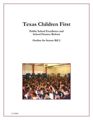 Texas Children First - Senate