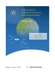 Vector Network Analysis Fundamentals - Application Note - TEVET