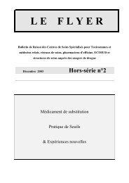 Hors-série n°2 - Synergie - Réseau Ville Hôpital