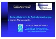Digitale Mammographie