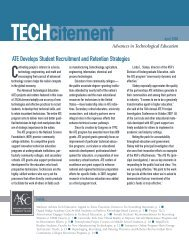 ATE Develops Student Recruitment and Retention Strategies