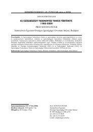 Az Egészségügyi Tudományos Tanács története (1863-2009) PROF ...
