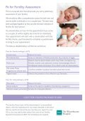 Reproductive health assessment clinic - BMI Healthcare - Page 2