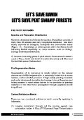 Let's Save Ramin Let's Save Peat Swamp Forests - ITTO - Page 2