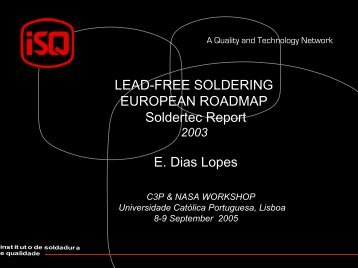 LEAD-FREE SOLDERING EUROPEAN ROADMAP Soldertec ...