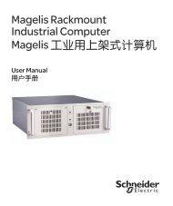 Magelis Rackmount Industrial Computer ... - Schneider Electric