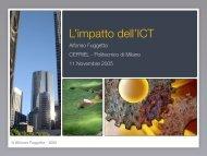 DOCUMENTO L'impatto dell'ICT - Confindustria IxI
