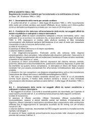 DPR 22 AGOSTO 1994 n. 582 Regolamento recante le modalità per ...