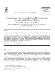 Modeling uncertainty in steady state diffusion problems via ...