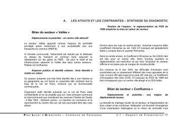 Conclusions : du diagnostic territorial aux ... - Ville de Palaiseau