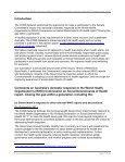 Joint COSS submission to the Senate on Social Determinants of ... - Page 7