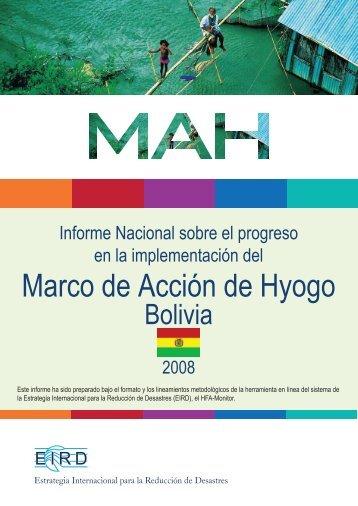 Bolivia - Biblioteca Virtual en Prevención y Atención de Desastres