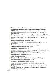 pag - Patrimoine numérique. Catalogue des collections numérisées