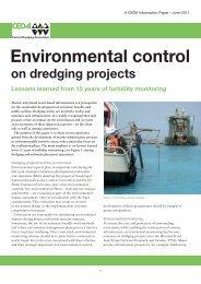 CEDA Information Paper - Central Dredging Association