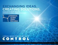 exchanging ideas. creating solutions. - Emerson Process Management