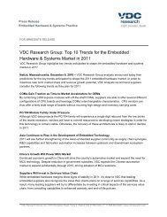 VDC Research Group: Top 10 Trends for the Embedded Hardware ...
