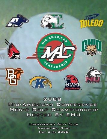 2008 MAC Men's Golf Championships - Ball State Athletics