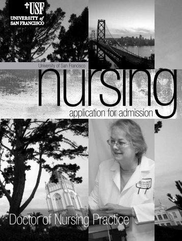 Doctor of Nursing Practice - University of San Francisco