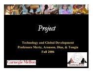 Final Project Assignment - TechBridgeWorld