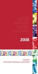 2008 Annual Report - Experience Downtown Red Deer