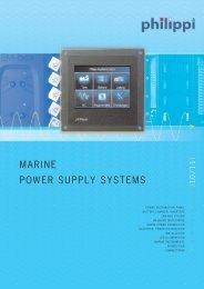 MARINE POWER SUPPLY SYSTEMS - Skaut