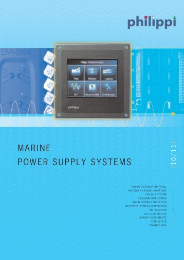 MARINE POWER SUPPLY SYSTEMS - Skaut