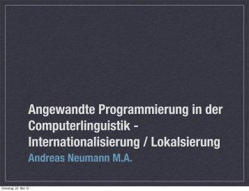 """""""i18n.pdf"""" herunterladen - Neumann.biz Neumann.biz"""