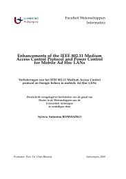 Enhancements of the IEEE 802.11 Medium Access Control ... - PATS