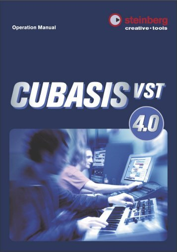 Cubasis VST 4.0 – Manual - School of Computing, Engineering and ...
