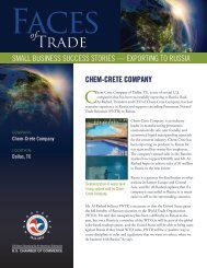 SMALL BUSINESS SUCCESS STORIES — EXPORTING TO ...