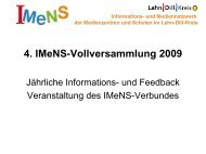 4. IMeNS-Vollversammlung 2009 - IMeNS Portal - Lahn-Dill-Kreis