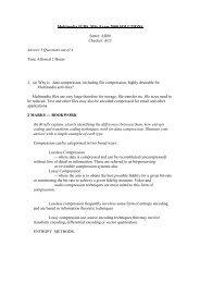 Multimedia IGDS MSc Exam 2000 SOLUTIONS Setter: ADM ...
