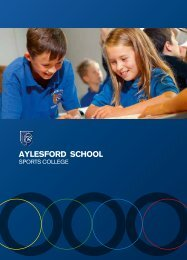 Prospectus with Images - Aylesford School