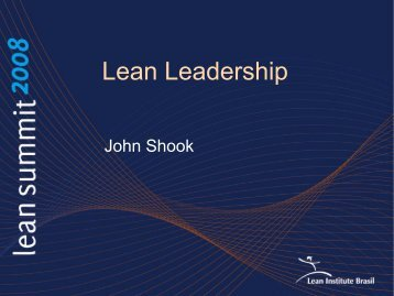 Lean Leadership