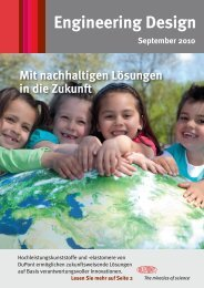 Engineering Design Magazine: Sept 2010 - German - DuPont