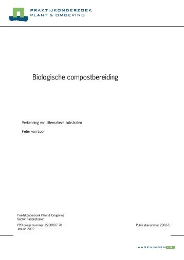 Samenvatting - Conclusie - Wageningen UR